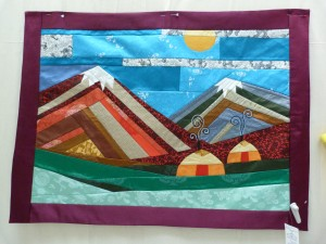 Mongolia - East and Quilt Show 1644