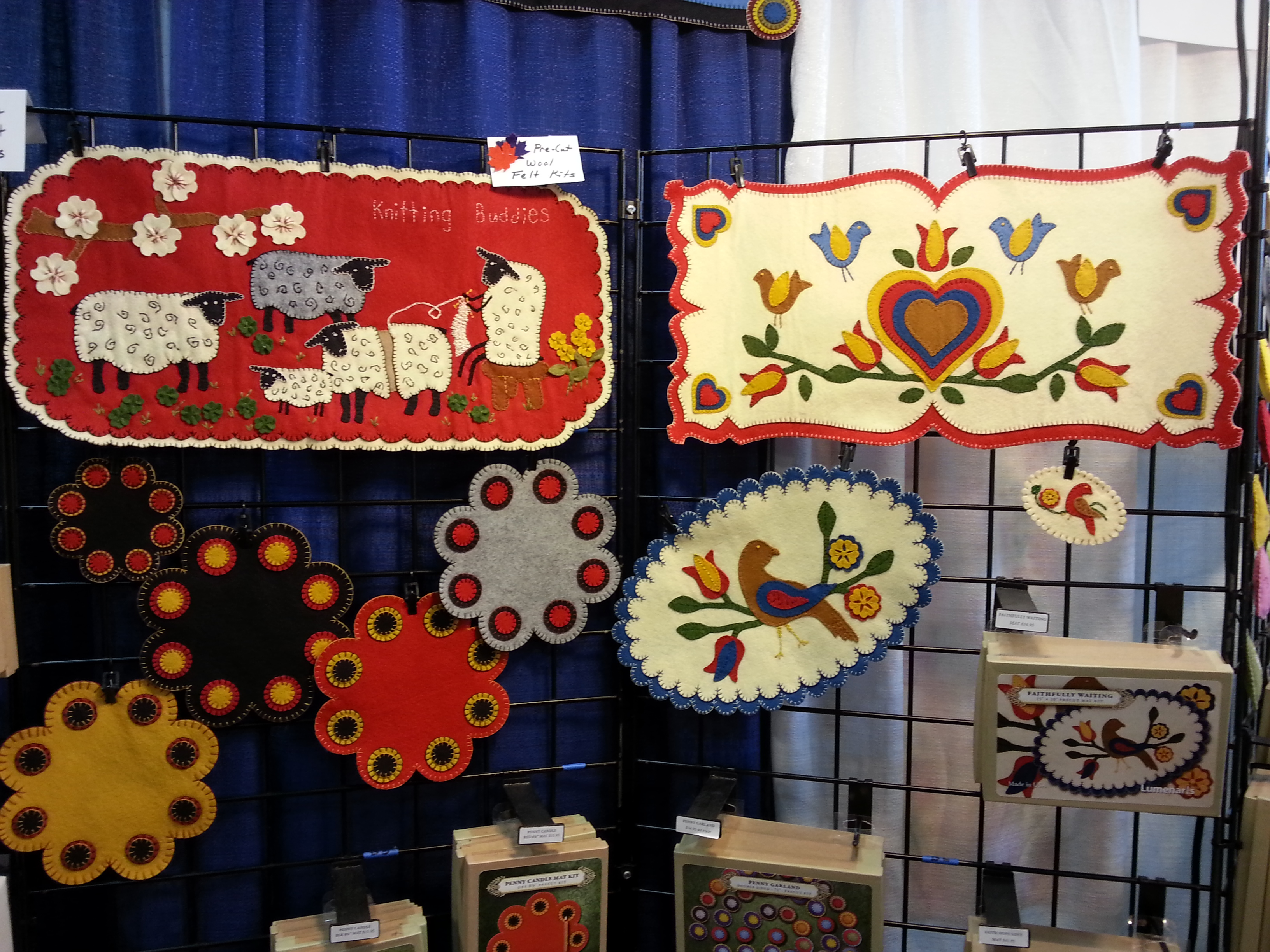 Sew Expo Puyallup II – Decorative felt kits | Dragonfly Quilts Blog : puyallup quilt show - Adamdwight.com