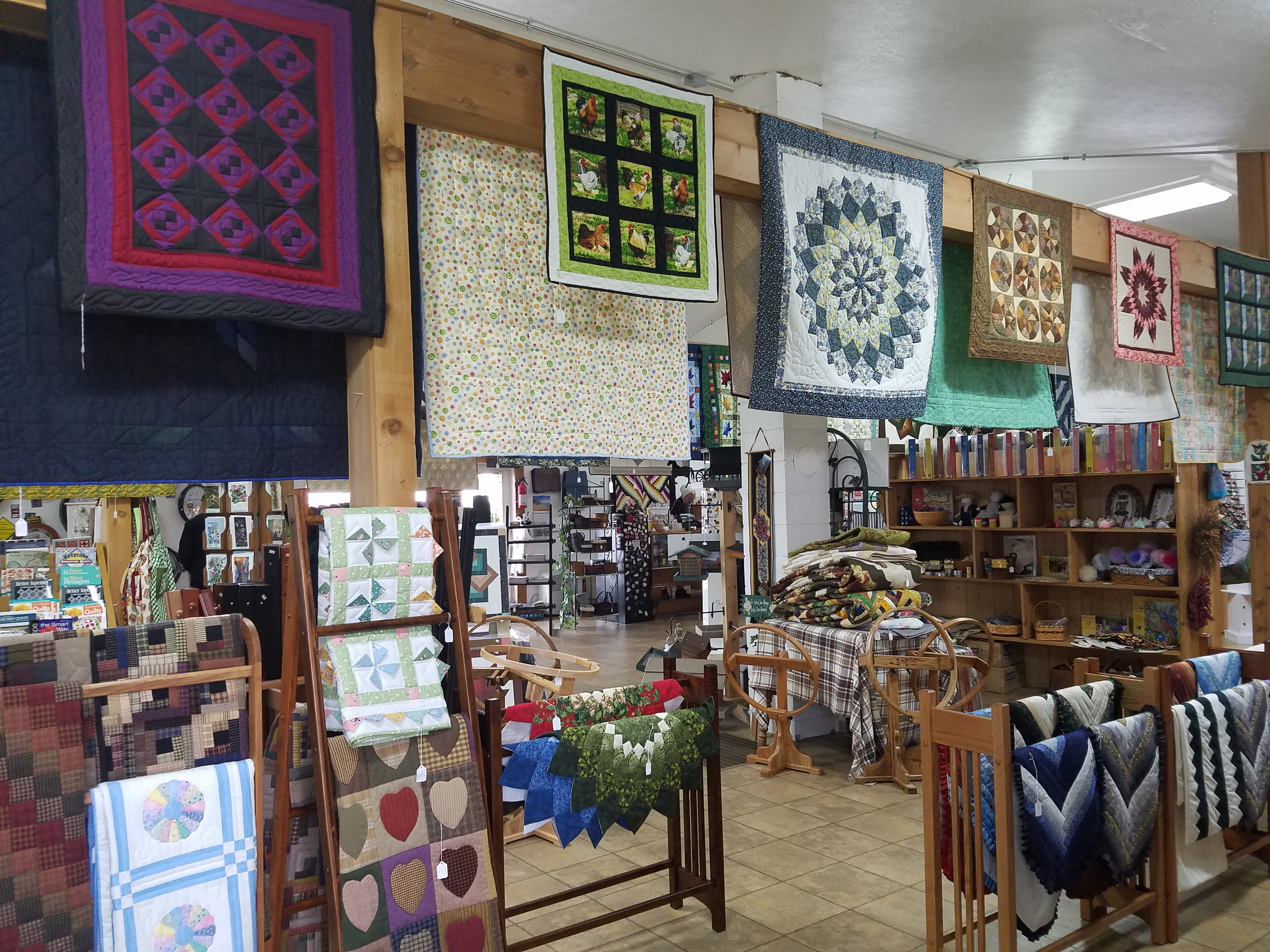Little Helpers Quilt Shop Shipshewana In Dragonfly Quilts Blog