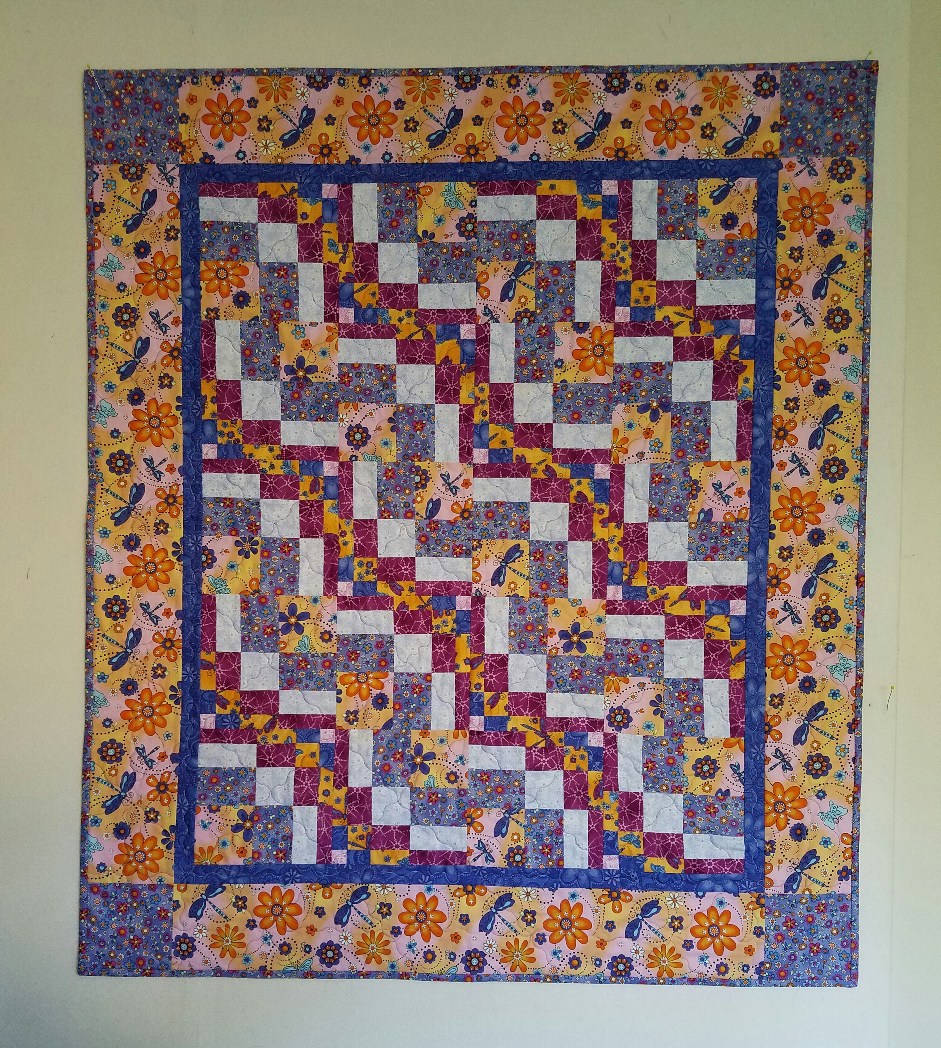 Bargello Block Baby Quilt Dragonfly Quilts Blog