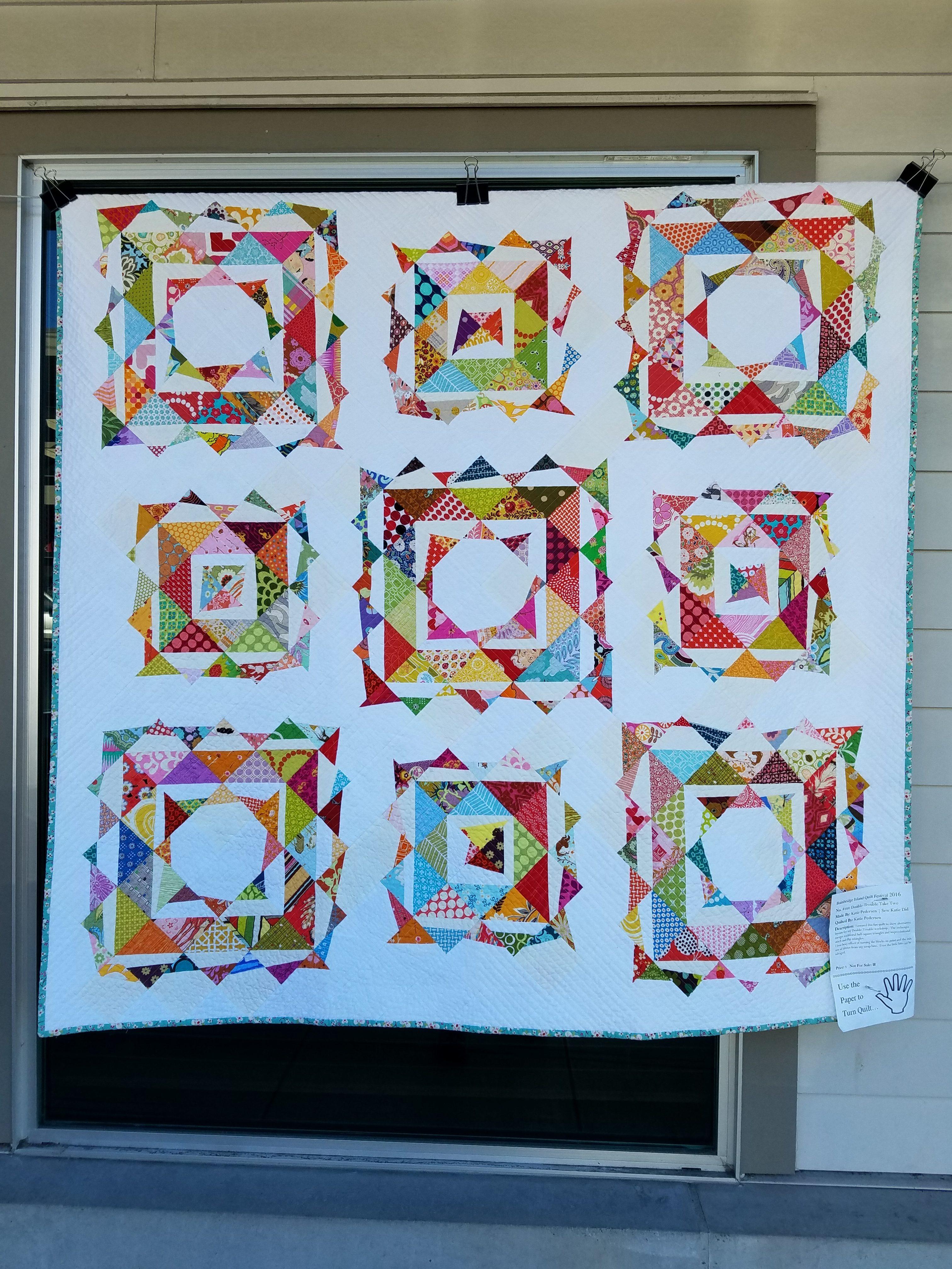 Modern quilt   Dragonfly Quilts Blog : taking turns quilt - Adamdwight.com