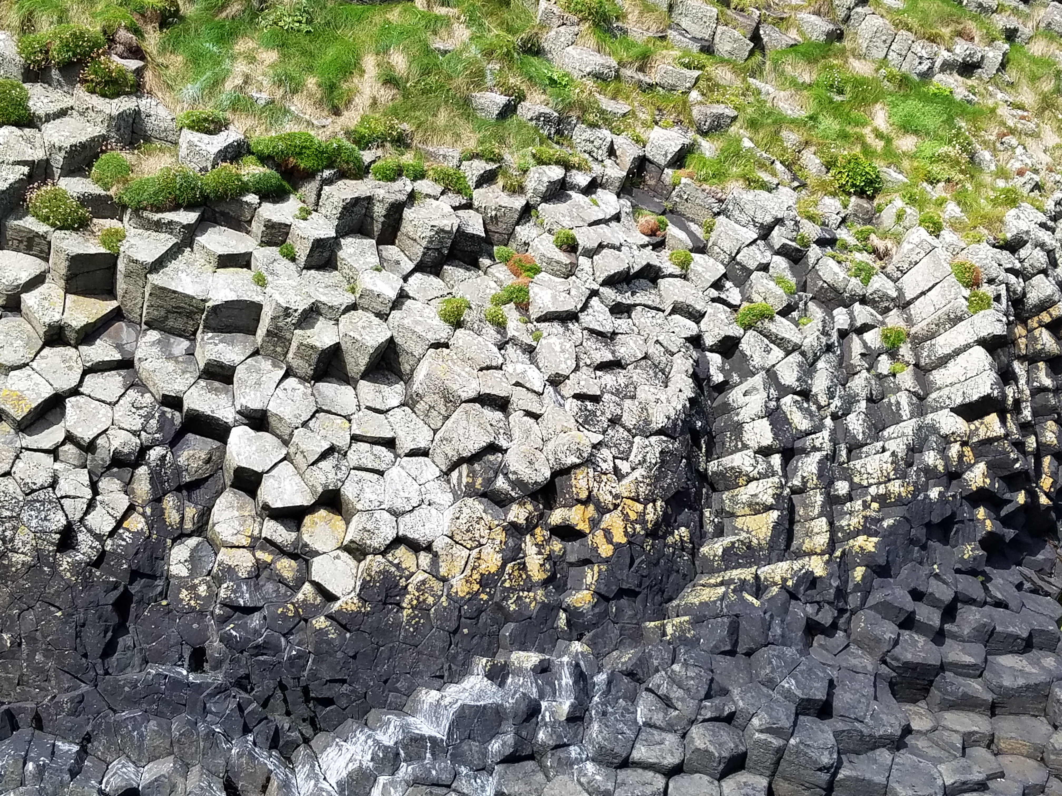 Rock Patterns Isle Of Staffa Scotland Dragonfly Quilts