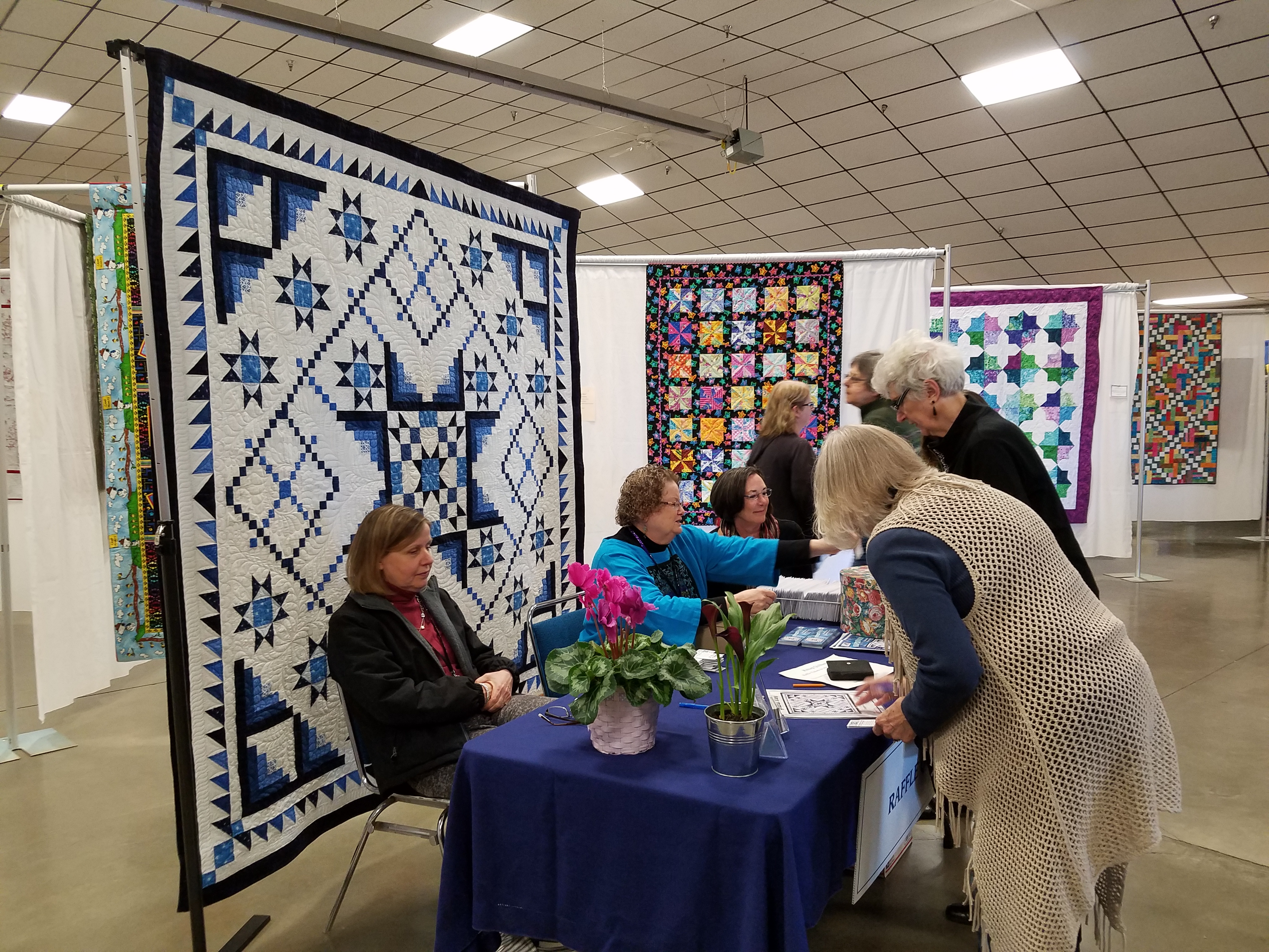 The Making of a Guild Quilt Show | Dragonfly Quilts Blog : quilting event - Adamdwight.com